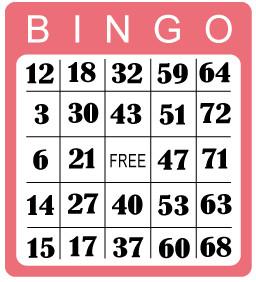 reglas del bingo de 75 bolas