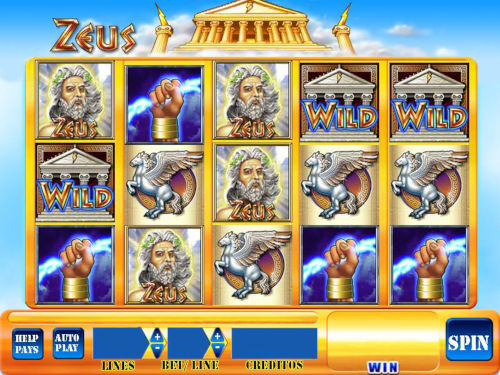 Tragamonedas Zeus online