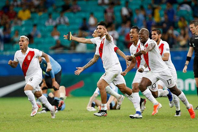 Chile vs Peru semifinal