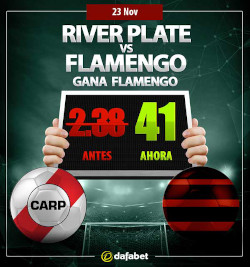 Dafabet River vs Flamengo Odds Boost