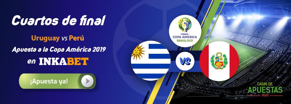 Uruguay vs Perú en Copa América 2019 Predicciones