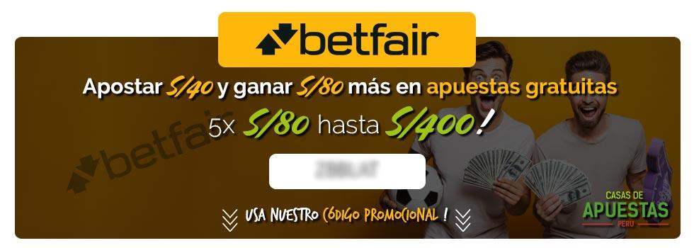 Codigo Promocional Betfair