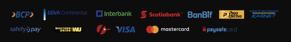 Hincha Bet metodos de pagamento