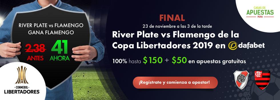 River vs Flamengo Final Copa Libertadores Pronosticos